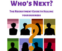 Who's Next? Guide (to external support & employing staff)