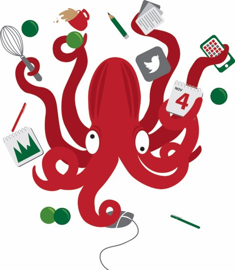 Juggling Octopus Image